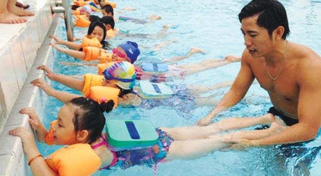 Tiêu chuẩn thiết kế bể bơi dành cho trẻ em